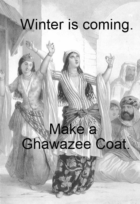 Ghawazee Coat Tutorial