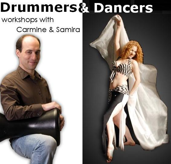 Workshops with Carmine and Samira